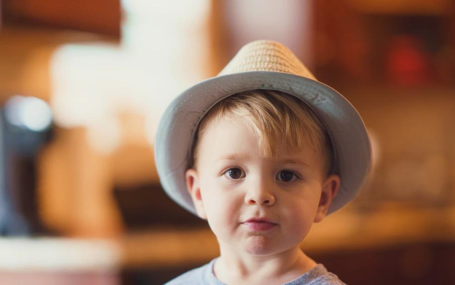 three year old boy hat