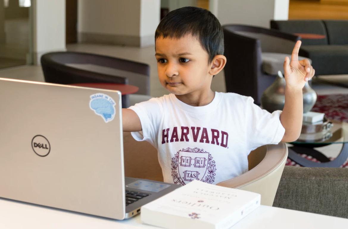 Remote Learning- boy!